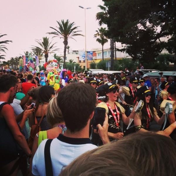 Sitges Gay Pride parade!