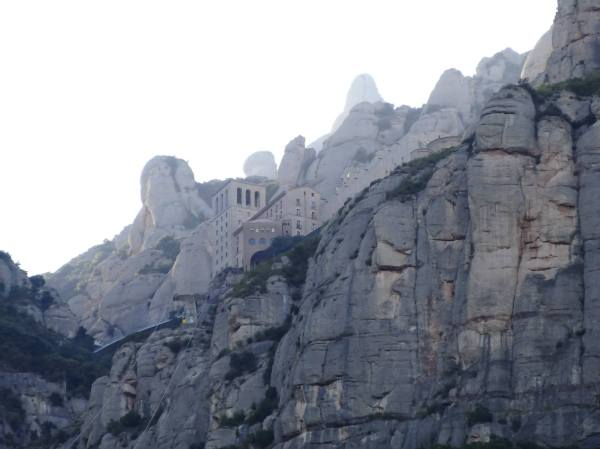 The monastery at Montserrat (with a lot of zoom)